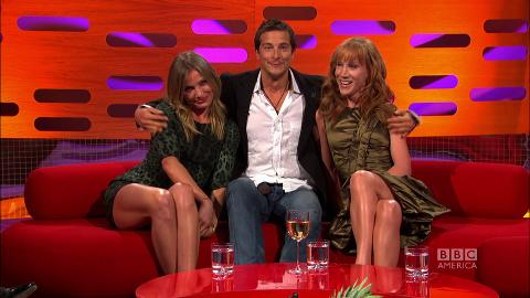 Cameron Diaz, Bear Grylls & Kathy Griffin