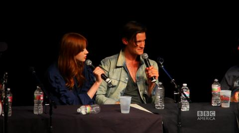 Comic-Con 2011 - Matt and Karen at the Nerdist Podcast Live
