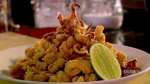 Crispy Salt and Pepper Squid... Done.