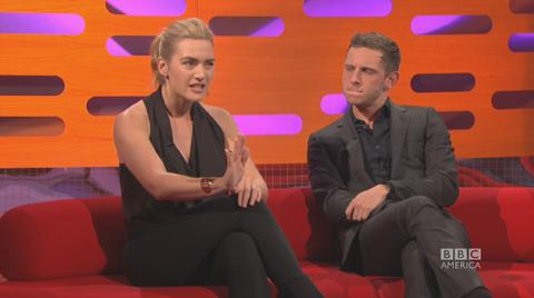 Kate Winslet, Jamie Bell & Rob Brydon