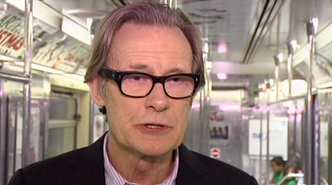 Bill Nighy Chats Occupation Wall Street