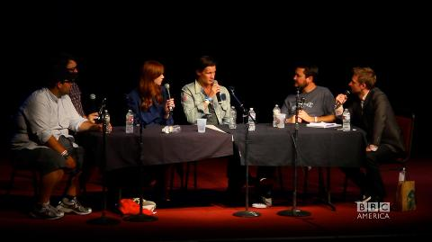 Comic-Con 2011: Matt Smith and Karen Gillan of 'Doctor ...