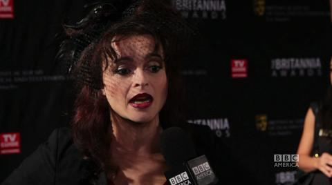 Helena Bonham Carter at the Britannia Awards
