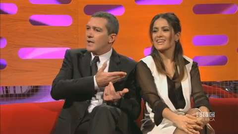 Antonio Banderas & Salma Hayek