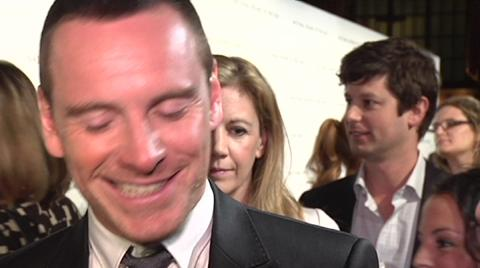 Michael Fassbender Talks About Re-teaming with Brad Pit...