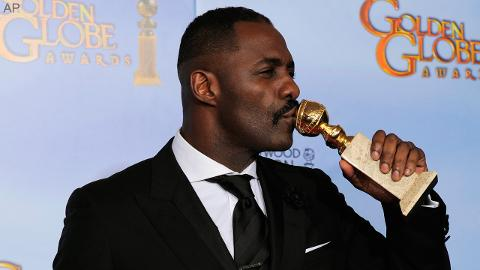 Congrats to Idris Elba - Golden Globe Winner!