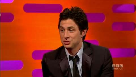 Graham Norton Show: Zach Braff