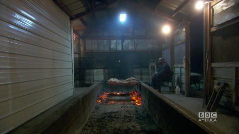 Pit-Barbecued Hog in Georgia
