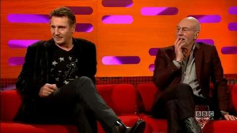 Liam Neeson & Sir Patrick Stewart Part 1
