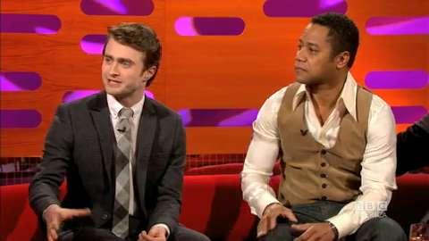Daniel Radcliffe & Cuba Gooding Jr.