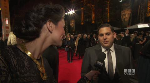 The Brit List: Interview with Jonah Hill on BAFTA's Red...