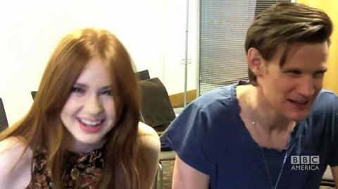 Karen and Matt Talk About Fan Cosplay at the Doctor Who...