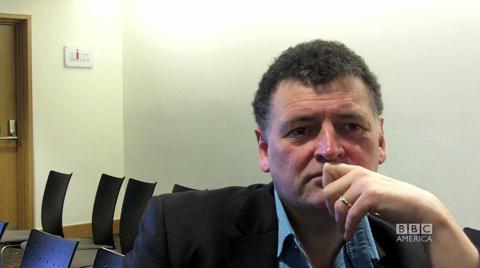 Steven Moffat on the Role of the Companion