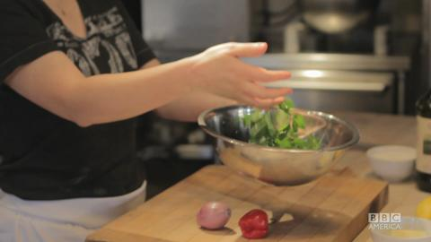 April Bloomfield Shows Us How to Make Lamb Chops with C...