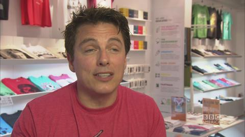 Which 'AbFab' Character is John Barrowman?