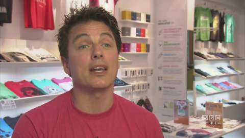 Summer of London: John Barrowman on a UK Fashion Design...
