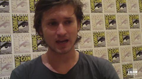 'Copper' Star Tom Weston-Jones at San Diego Comic-Con 2012