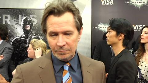 Gary Oldman on 'The Dark Knight Rises'