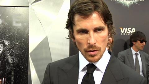 Christian Bale on 'The Dark Knight Rises'