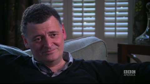 Steven Moffat On Taking a Trip in the TARDIS