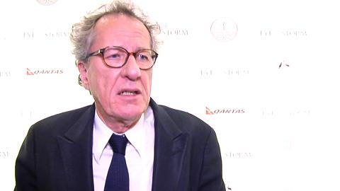 Geoffrey Rush Goes Homeward in Aussie Film
