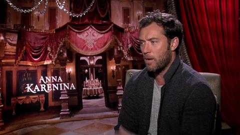 Jude Law on Playing Older in 'Anna Karenina'