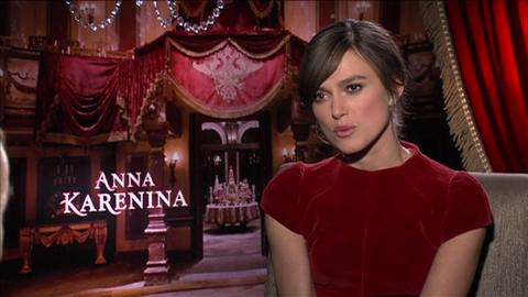 'Anna Karenina' Star Keira Knightley on Coping with Cri...