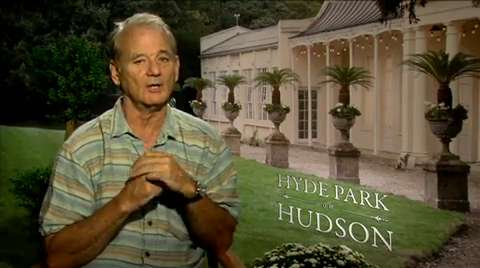 Bill Murray on FDR, British Royals, and 'Hyde Park on H...