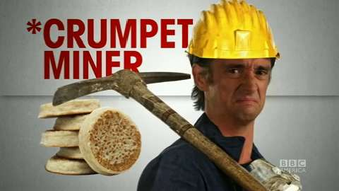 Richard Hammond... Crumpet Miner!?