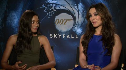 'Skyfall's' Naomie Harris, Berenice Marlohe on Being Bo...
