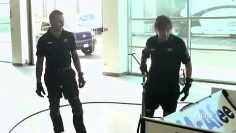 IndyCar Pit Crew Trailer