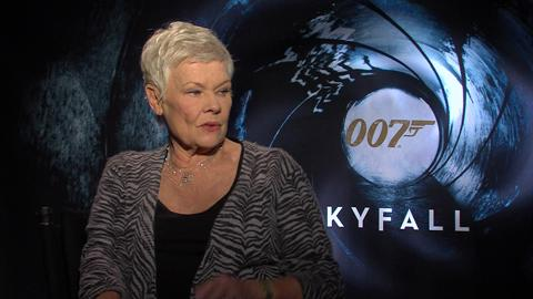 Judi Dench on Her Lucky Role as M