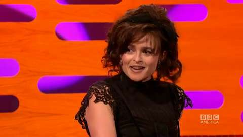Helena Bonham Carter On Christmas With Tim Burton