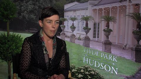 British Actress Olivia Williams Plays Eleanor Roosevelt...