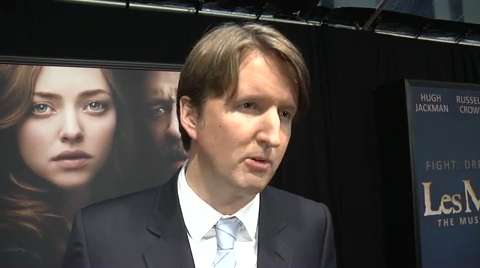 Tom Hooper on 'Les Miserables' as 'Anthem for the Dispo...