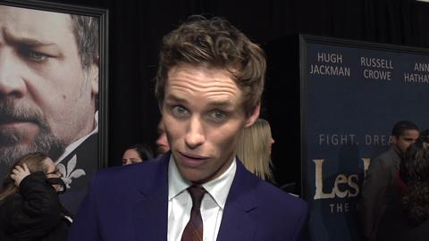 Anglophenia:  Eddie Redmayne on 'Les Miserables'