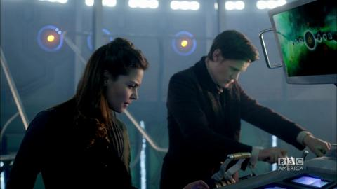 Inside the new TARDIS! Christmas Special 2012