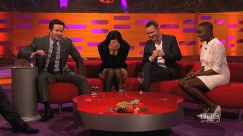 Mark Wahlberg Flips the Red Chair...Again and Again!