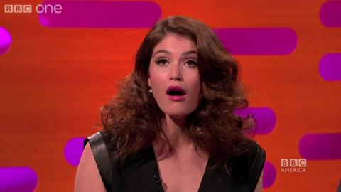 Gemma Arterton is the Queen of Karaoke