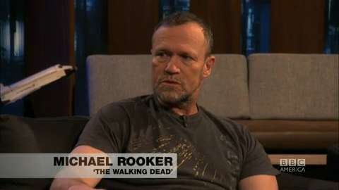 Michael Rooker Talks 'Walking Dead'