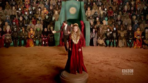 'The Rings of Akhaten' Inside Look