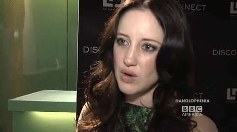 Andrea Riseborough Talks 'Disconnect'