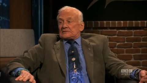 Buzz Aldrin Talks Meteors