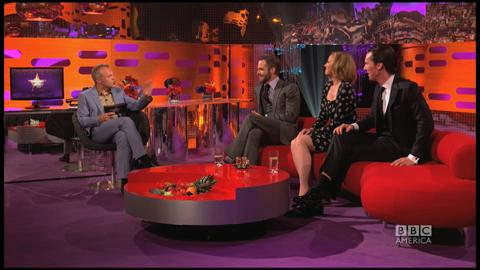 Graham Norton Show: Cumberbatch & Pine's Wild Fans