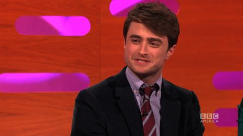 Graham Norton Show: Radcliffe on Getting Propositioned on Stage
