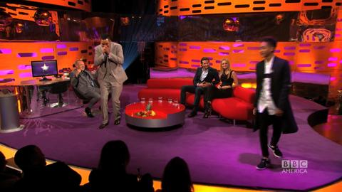 Graham Norton Show: Will & Jaden Smith Freestyle Rap Together!