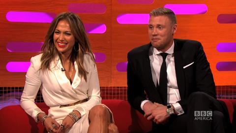 Graham Norton Show: Teaching JLo about Cricket
