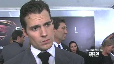 Henry Cavill at the 'Man of Steel' Premiere