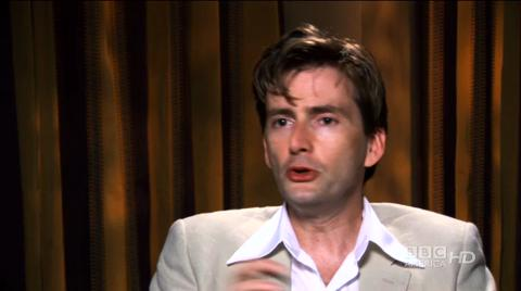 David Tennant on his last episodes