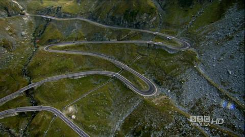 Finding the Transfagarasan